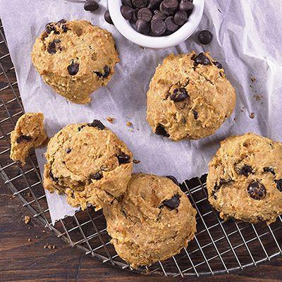 Biscuits moelleux à la patate douce et aux pépites de chocolat (Metro.ca - Caroline Mc Cann)