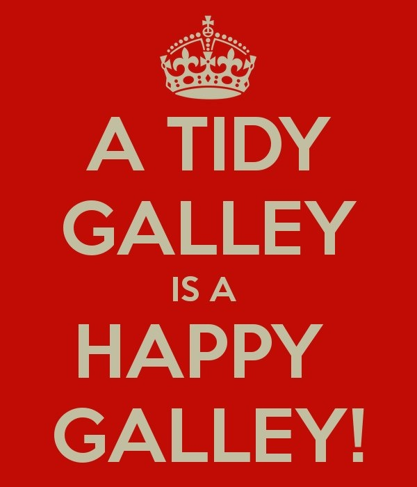 As a galley queen...Yes.