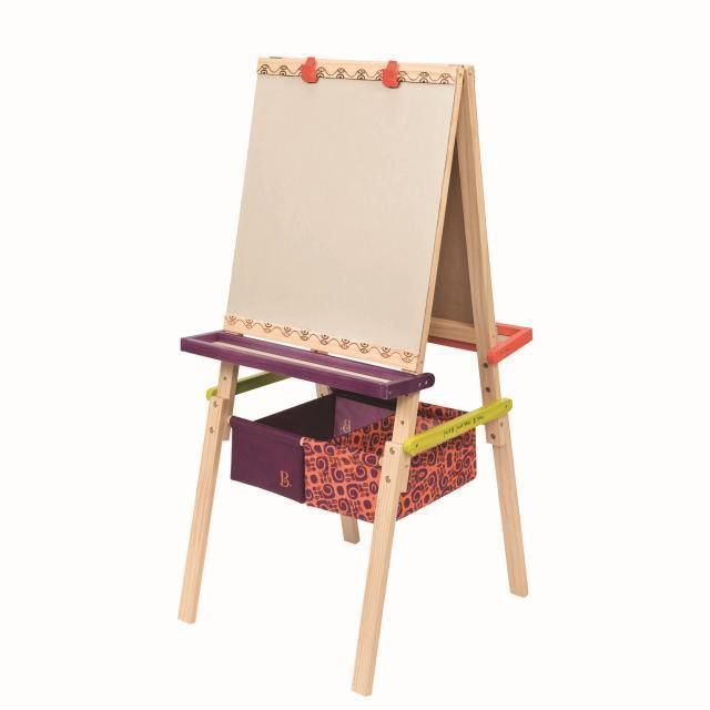 B Toys Art Easel Great for bedrooms, playrooms and schools