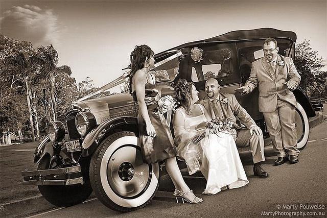 Gangster wedding by Marty Pouwelse, via Flickr