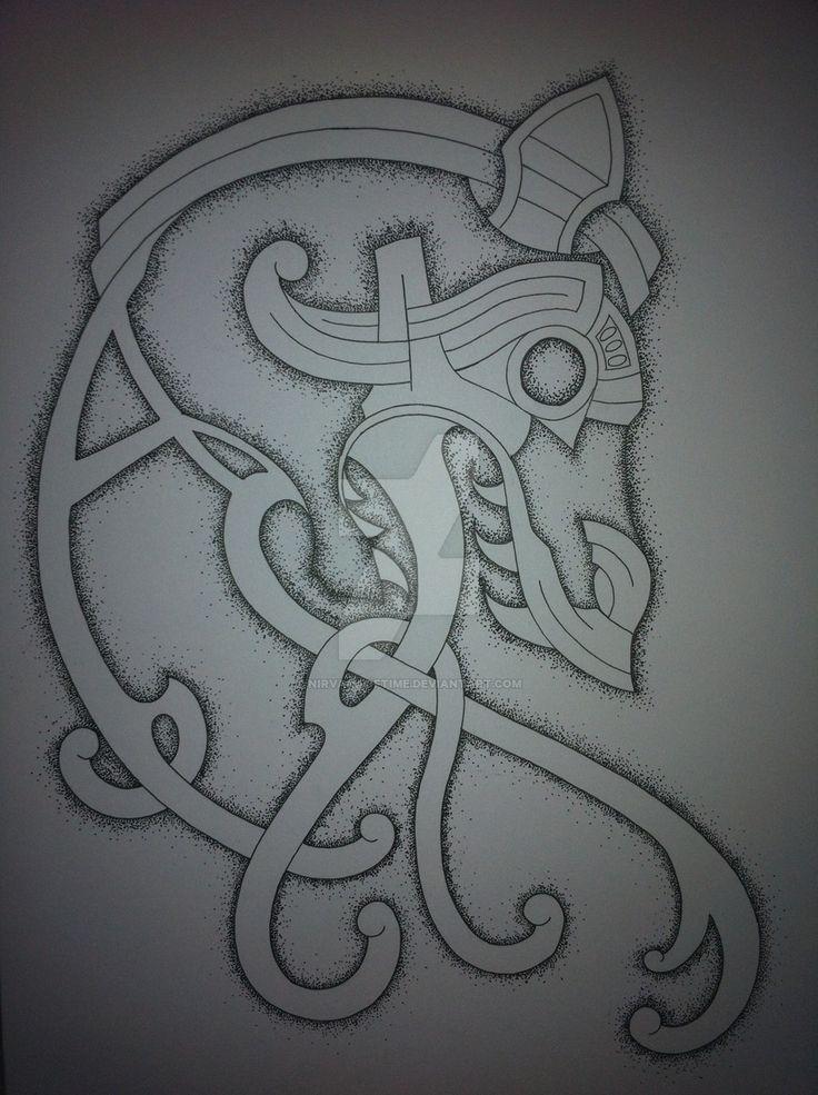 celtic_dragon_tattoo_design_finished_by_nirvanaoftime-d5fccyx.jpg (900×1205)