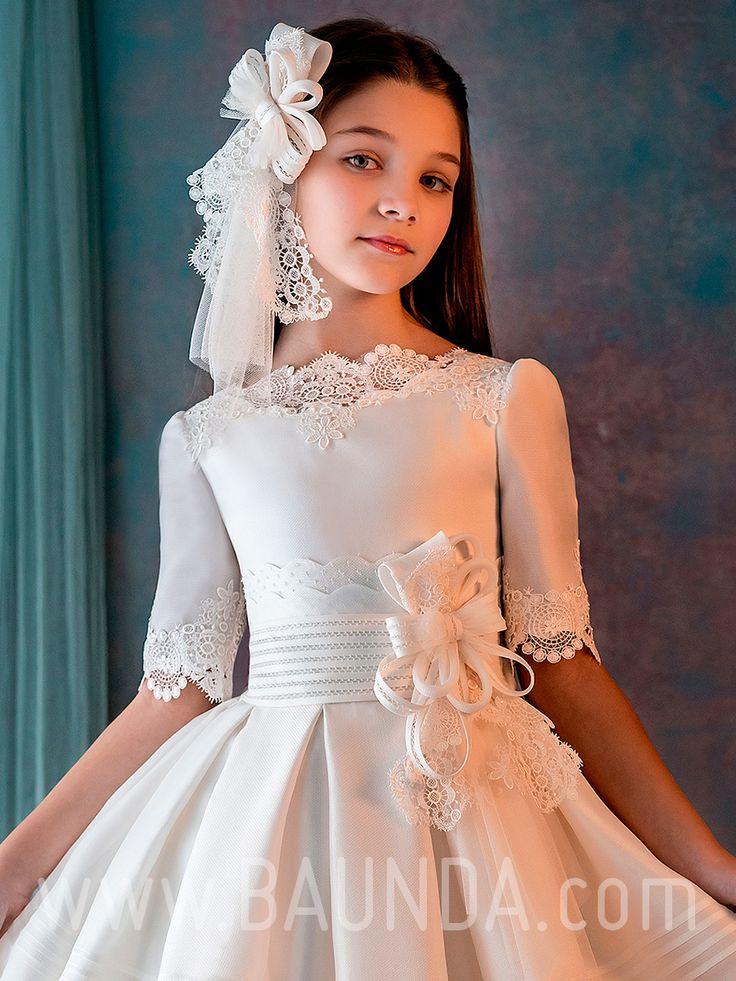 Vestido comunión Hannibal Laguna 2019 modelo J304 Madrid y online