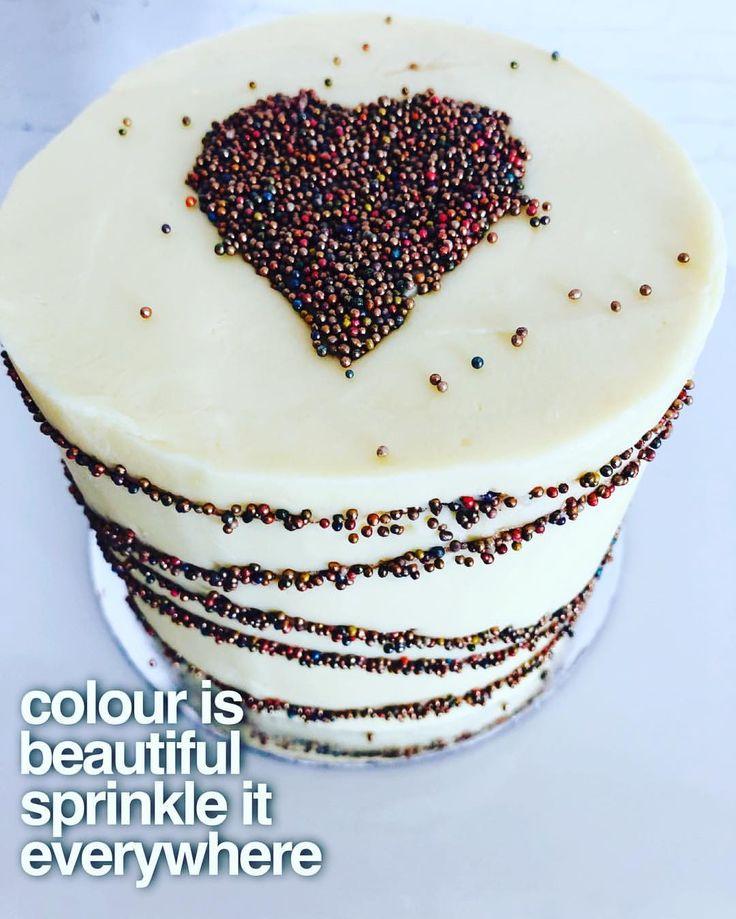 "3 Likes, 1 Comments - SugarByDesign (@sugarbydesignaustralia) on Instagram: ""#minicake#rosegold#sprinkles#creativecakes#loveisintheair#colourisbeautiful#colorful#colourful#white…"""