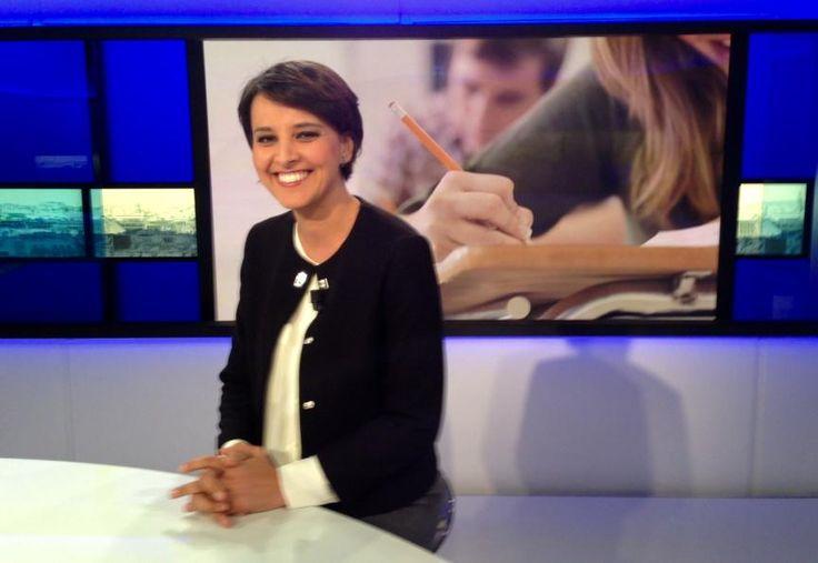La ministre de l'éducation nationale, Najat Vallaud Belkacem