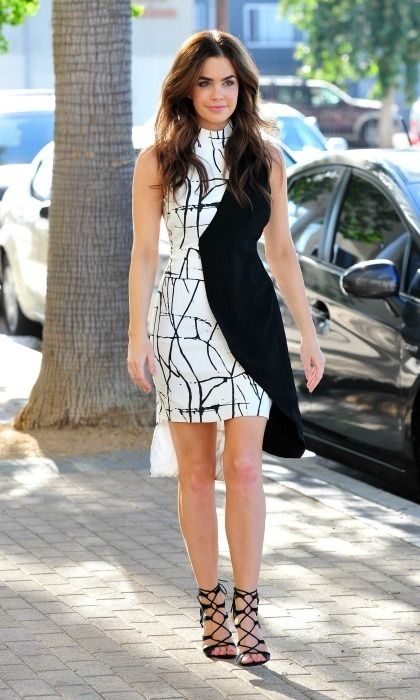 Jillian Murray was spotted wearing a KARIGAM dress while out and about in Encino, California.