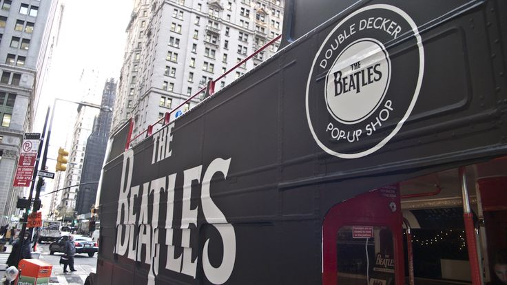 the beatles pop up -