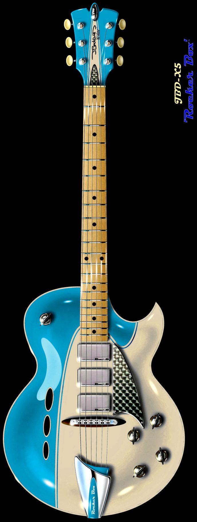 J Backlund Rocket Box #LardysWishlists #Guitar ~ https://www.pinterest.com/lardyfatboy/ ~