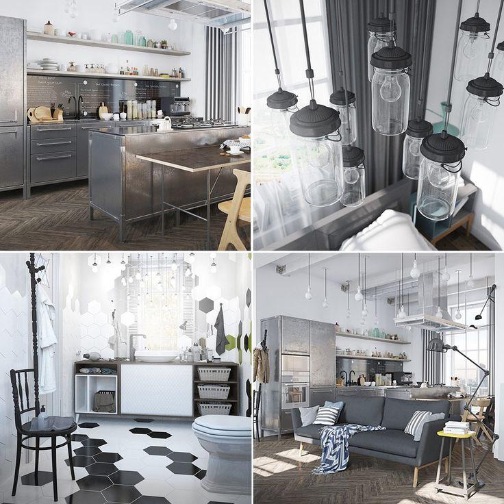 Meer dan 1000 idee n over donkere interieur op pinterest interieurontwerp voor thuis kleine for Foto van interieurontwerp