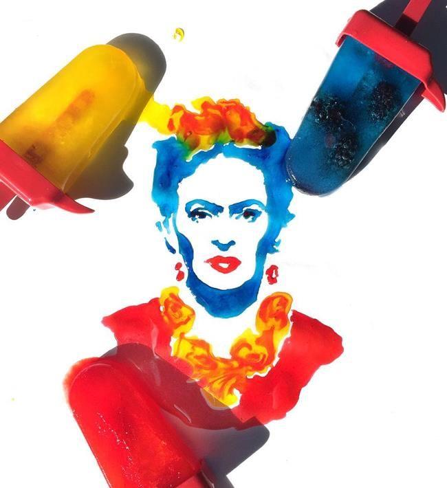 Gündelik Objeler ve Yiyeceklerle Ünlü Portreleri Resmeden Sanatçı: Jessie Bearden Sanatlı Bi Blog 31