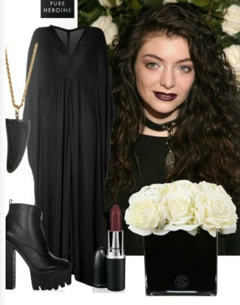 Oh Lorde - we love your style so much we are going to steal it.