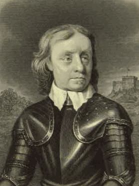 Cromwell wearing armour PD