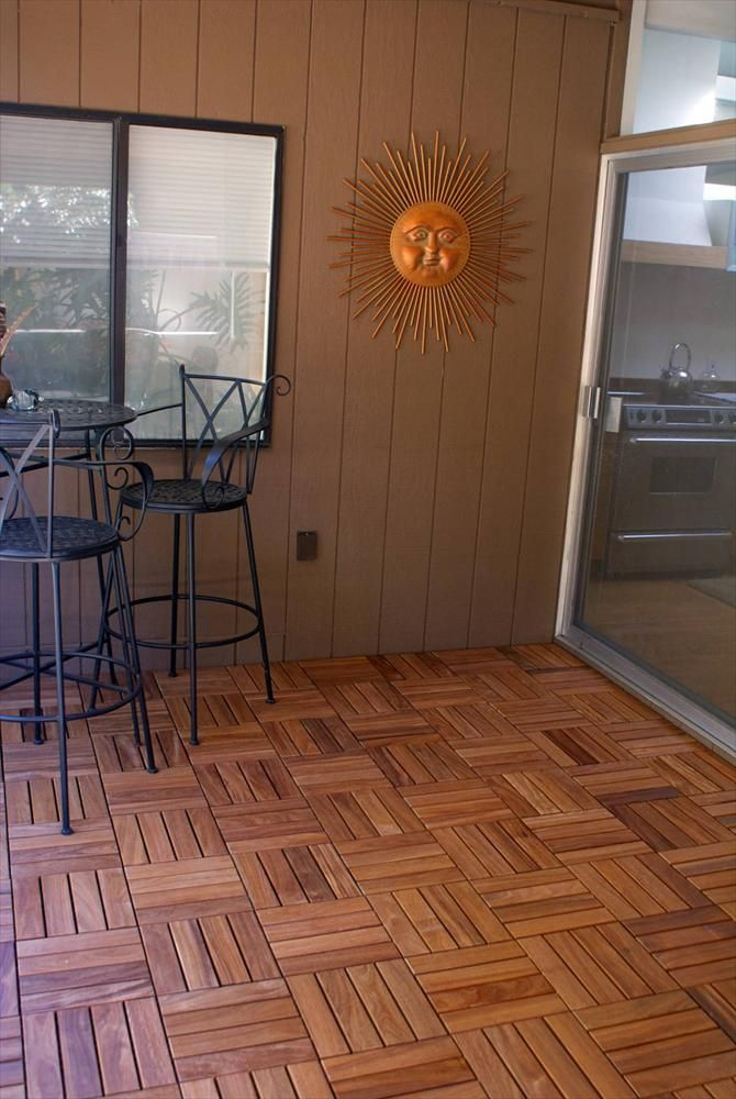 builddirect u2013 wood deck tile u2013 copacabana ipe champagne outdoor view