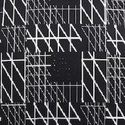Unreadable Pattern 007 svart