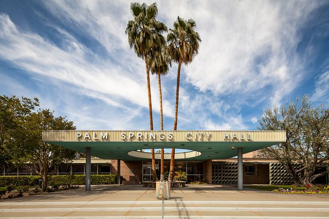 Palm Springs City Hall by Chimay Bleue, via Flickr