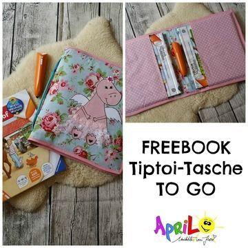 FREEBOOK Tiptoi-Tasche TO GO von April-Sonne - Nähanleitungen bei Makerist sofort runterladen