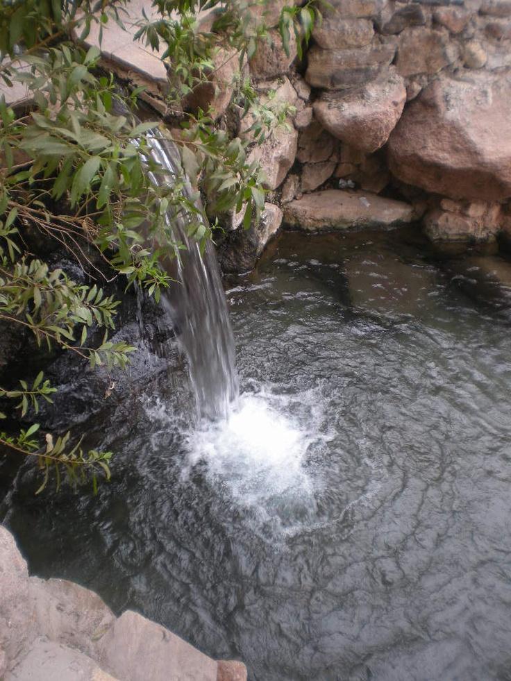 Termas de Fiambalá, 1750msnm, con temperaturas entre 51º y 28º... un paraíso en la montaña. Fiambalá, Catamarca, Argentina.