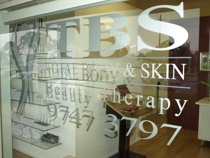 TBS Beauty Therapy - Total Body & Skin shop1b,central walk,429 High st, Melton, Victoria.