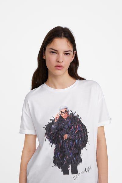 d0433bee9 IRIS APFEL T-SHIRT | My Style Pinboard in 2019 | Shirts, T shirt, T shirts  for women
