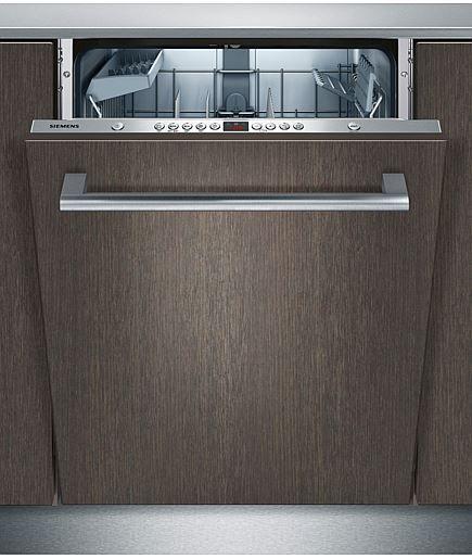 Siemens SX75M039EU är en extra hög diskmaskin med varioHinge för extra flexibel inbyggnad med kapacitet för 13 kuvert. Dessutom varioSpeed för upp till 50 % kortare disktid. I energieffektivitetsklass A++, torkeffektivitetsklass A och ljudnivå 46 dB(A).