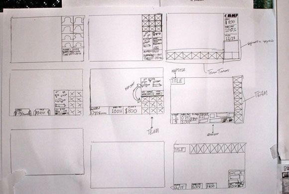 Game Interface Sketch