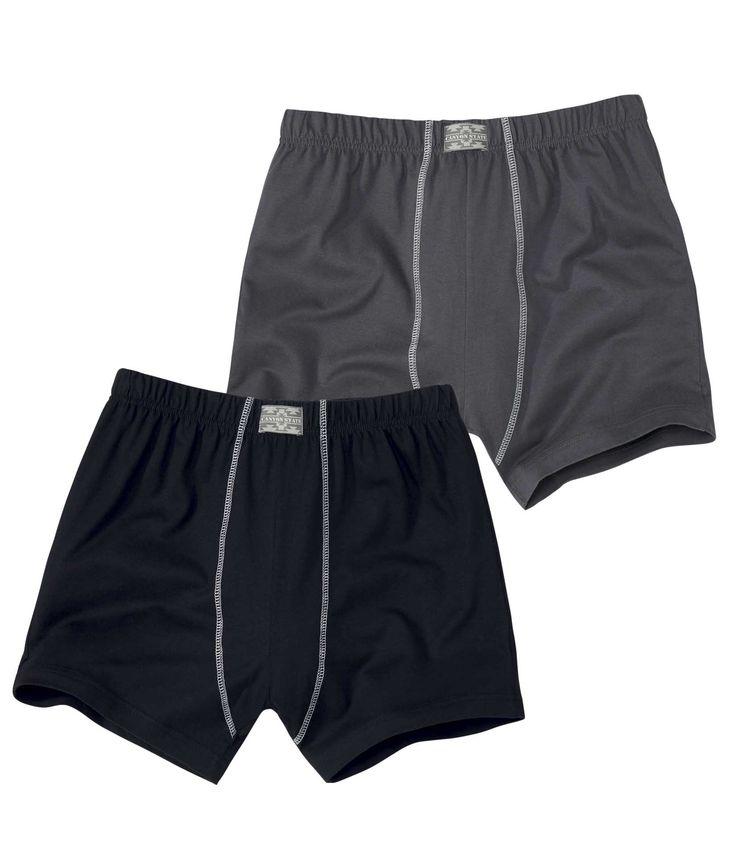 Lot de 2 Shortys Confort #travel #voyage #atlasformen #formen #discount #shopping #ootd #outfit #formen #hommes #man #homme #men