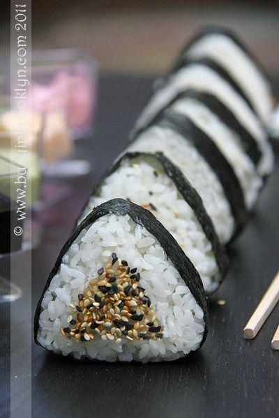 ONIGIRI + PANINO + SANDWHICH + PICNIC + JAPANESE STREET FOOD