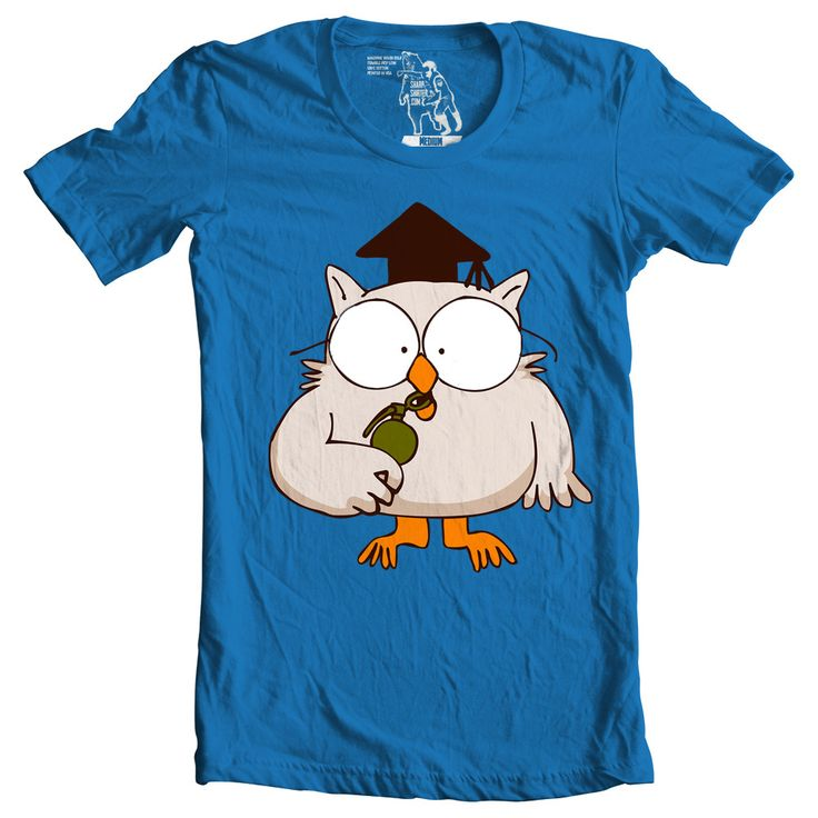 Mr.Owl Men's Graphic Tee