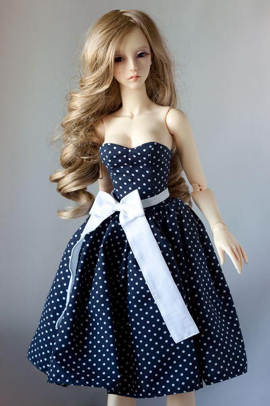 Pin-up style dress for Soom SG by Nulize.deviantart.com on @DeviantArt#bjd #abjd #bjdclothes #bjdfashion #soom #soomsupergem #soomsg #bjdsewing #dolls #nulizeland