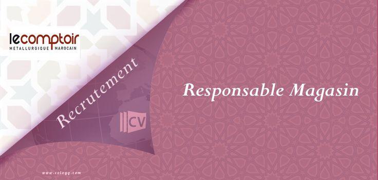 Le #Comptoir #recrute un #Responsable #Magasin #Electroménager à #Kénitra, #Marrakech et #Fès