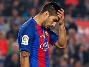 Injured striker Luis Suarez ruled out of Uruguay matches