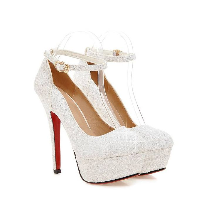 Plus Size34 43 2016 Women Pumps Female  Single High Heels Wedding Shoes Gold Silver glitter Autumn platforms Pumps PS1563-in Women's Pumps from Shoes on Aliexpress.com   Alibaba Group