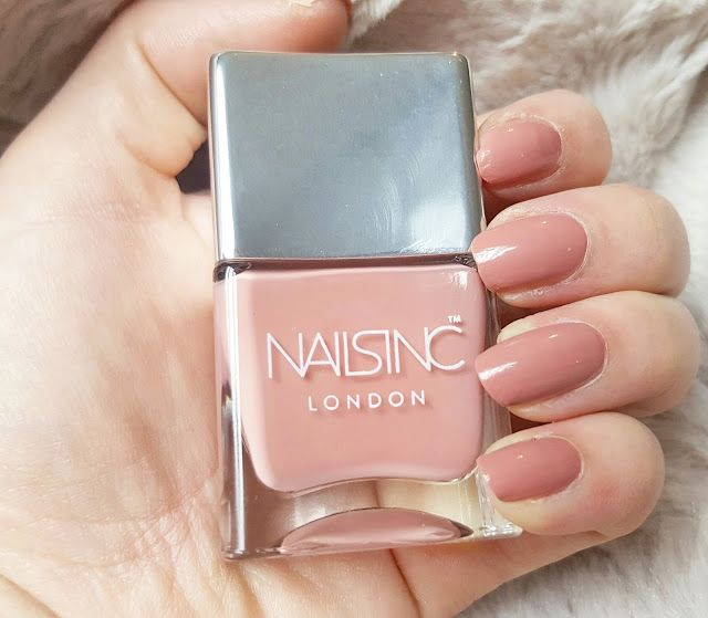 Nails Inc - Uptown The perfect pink/nude shade.