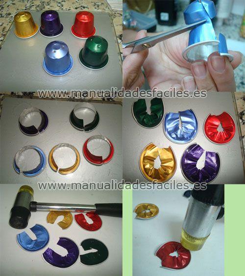 Collar multicolor de c�psulas Nespresso