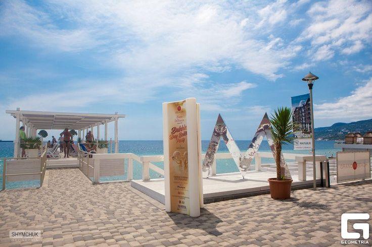 Пляжный клуб Grand M Beach | Массандровский пляж