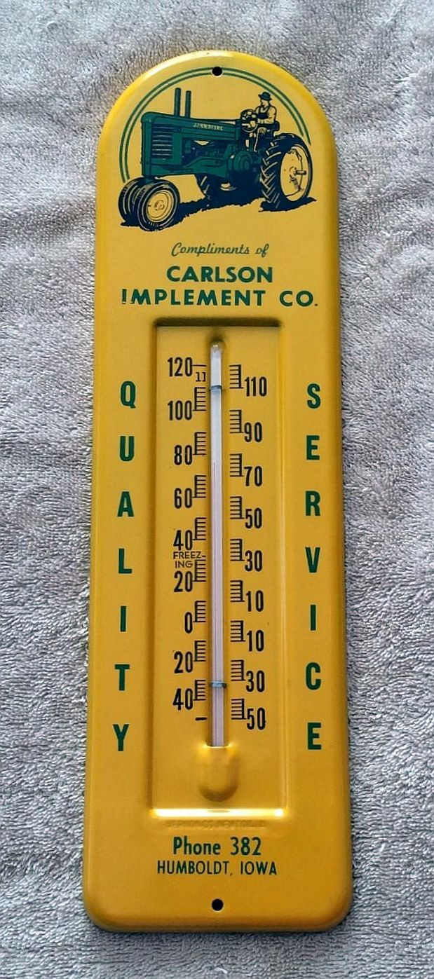 1940s Tractor Repair Signs : Best images about thermometer on pinterest john deere