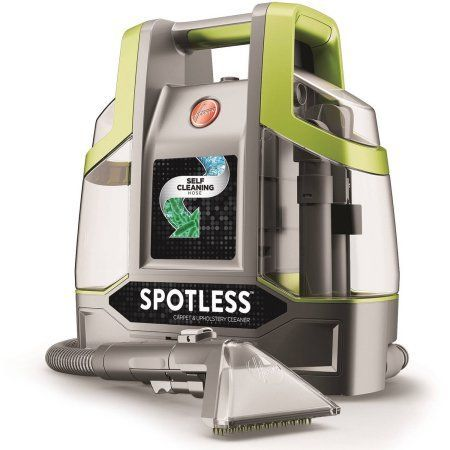hoover spotless pet portable carpet cleaner fh11100 green