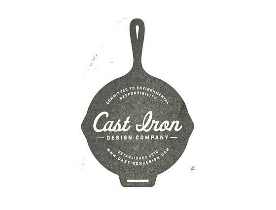 Circular logos Cast Iron Design Company