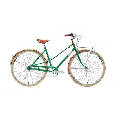 """Caferacer Lady Doppio Dark Brown 7s 28"""". Lekki rower, który idealnie sprawdzi się dla smukłych i kruchych kobiet. http://damelo.pl/damskie-rowery-miejskie-stylowe/106-rower-miejski-damski-creme-caferacer-lady-doppio-dark-brown-7s-28.html"""