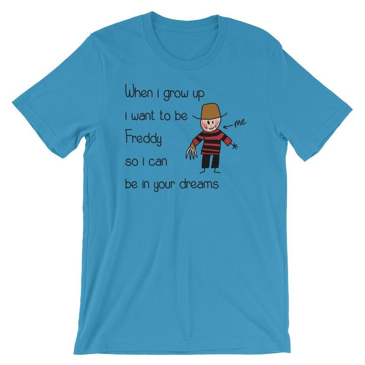 Check out this great tee! Freddy T-shirt   http://beefyteez.com/products/freddy?utm_campaign=social_autopilot&utm_source=pin&utm_medium=pin