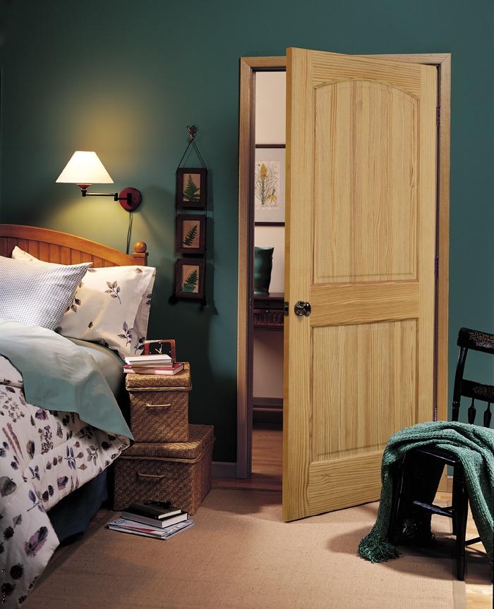 2 Panel Arch Pine Door By Homestory Doors Homestory Authentic Wood Interior Doors Pinterest