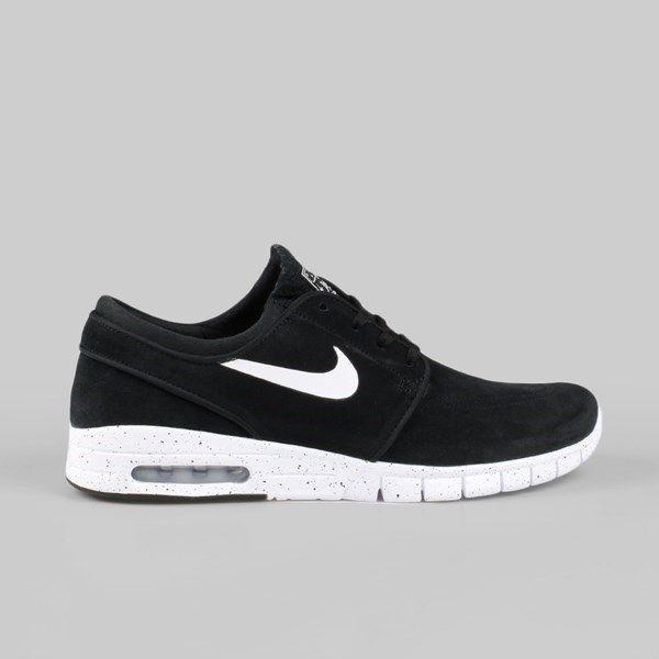 Nike SB Janoski Max L Black Suede