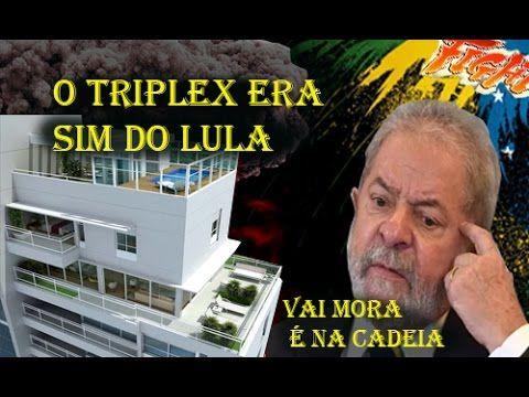 A CASA CAIU  O TRIPLEX ERA DE LULA, VAI SER PRESIDENTE NA CADEIA EM 2017