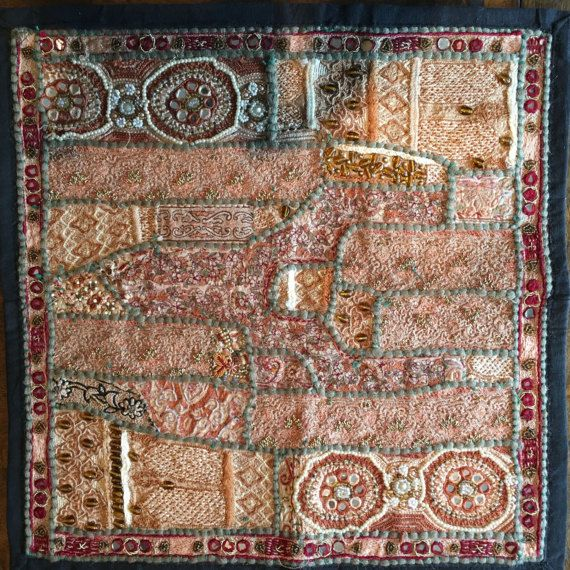 Ethnic Handmade Vintage Wall tapestry / Wall hanging / by Sajavat