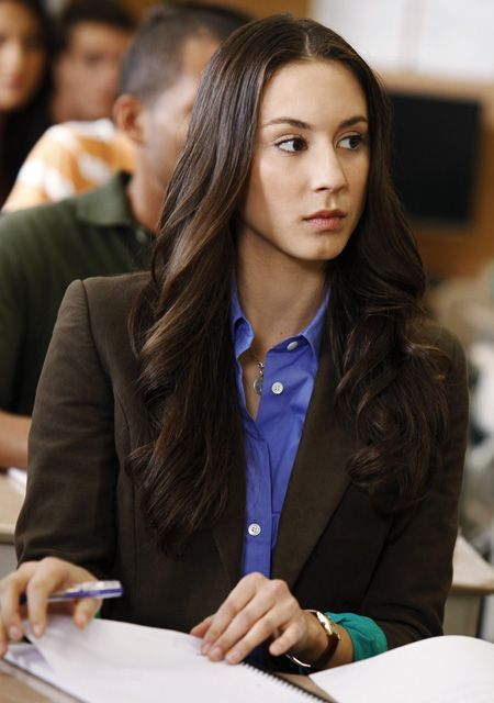 Troian Bellisario as Spencer Hastings From Pretty Little Liars