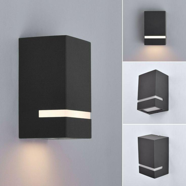 Außenleuchte Wandleuchte Wandlampe Gu10 Lampe Up Down