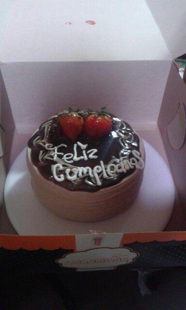 Torta de cumpleaños madrileña