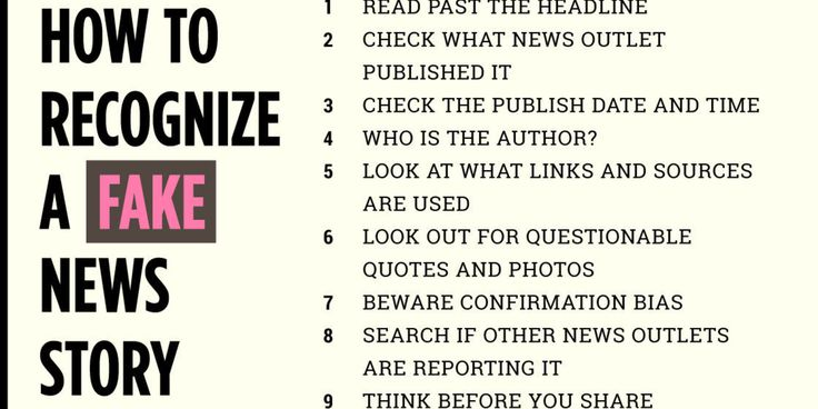 How To Recognize A Fake News Story | The Huffington Post