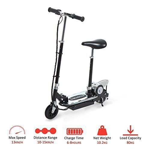 Rechargeable Electric Scooter Children Teens Outdoor Toy Activity 24V Battery Uk #Homcom