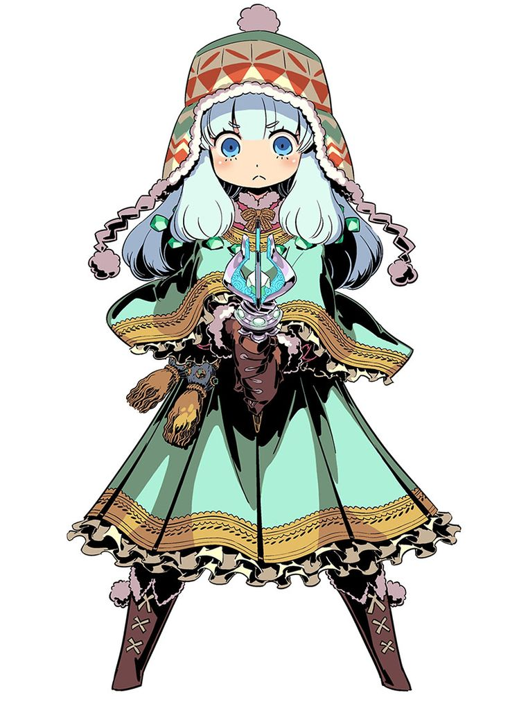 Runemaster Female from Etrian Odyssey IV Legends of the