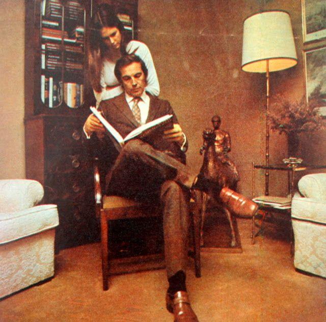 Christiaan Barnard & Barbara Barnard 1972.